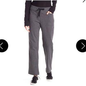 $265 James Perse Gray Drawstring Front Pocket Pant